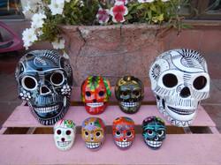 Skulls - small, medium, large