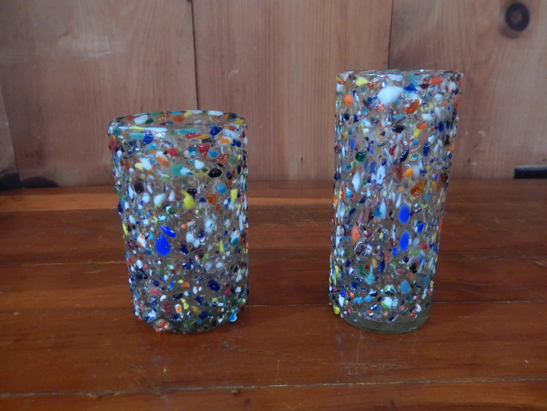 Multi-color glass