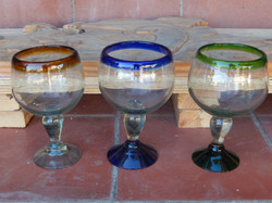 small shot glasses - snifter style