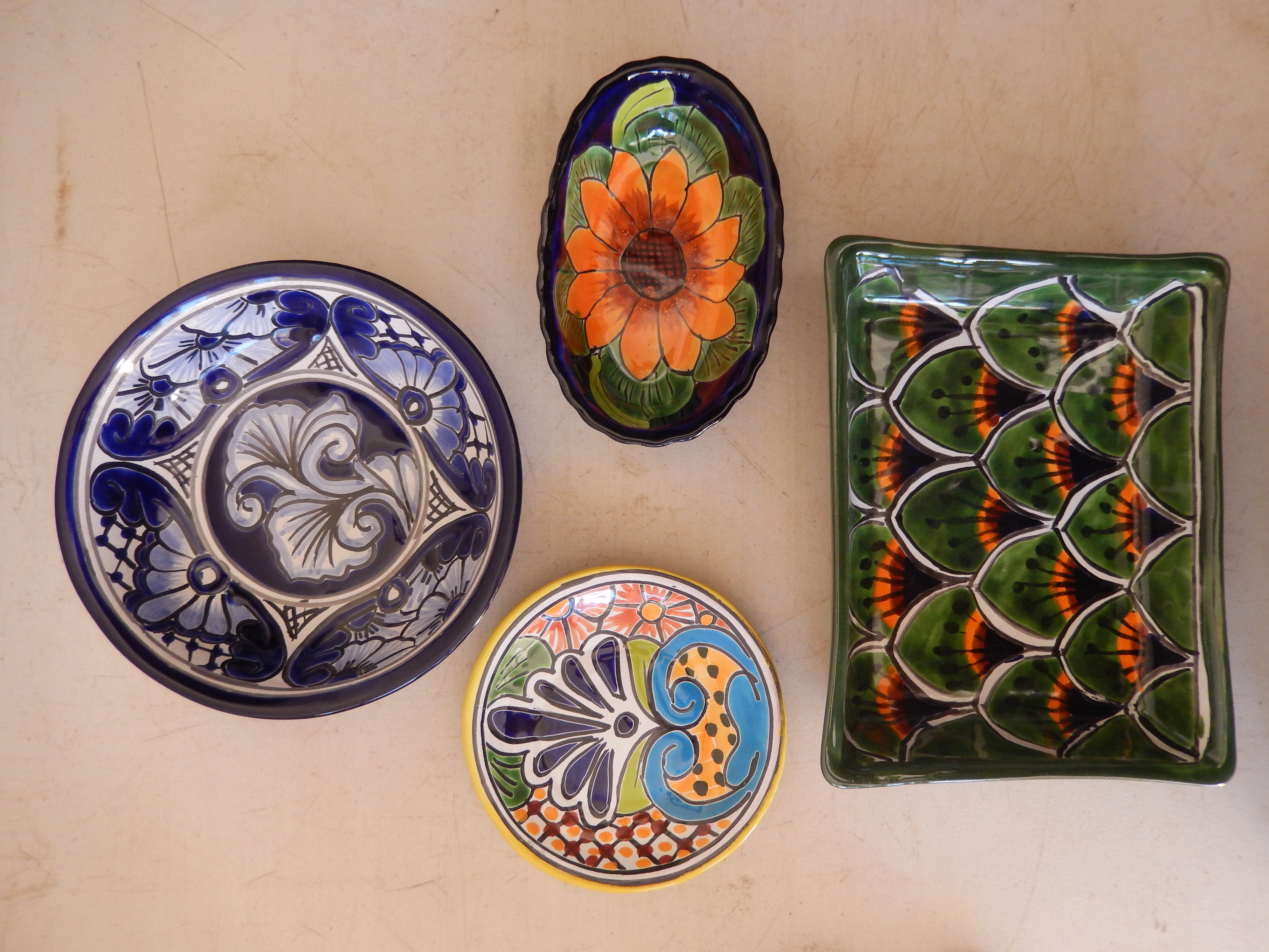 Platters and bowls