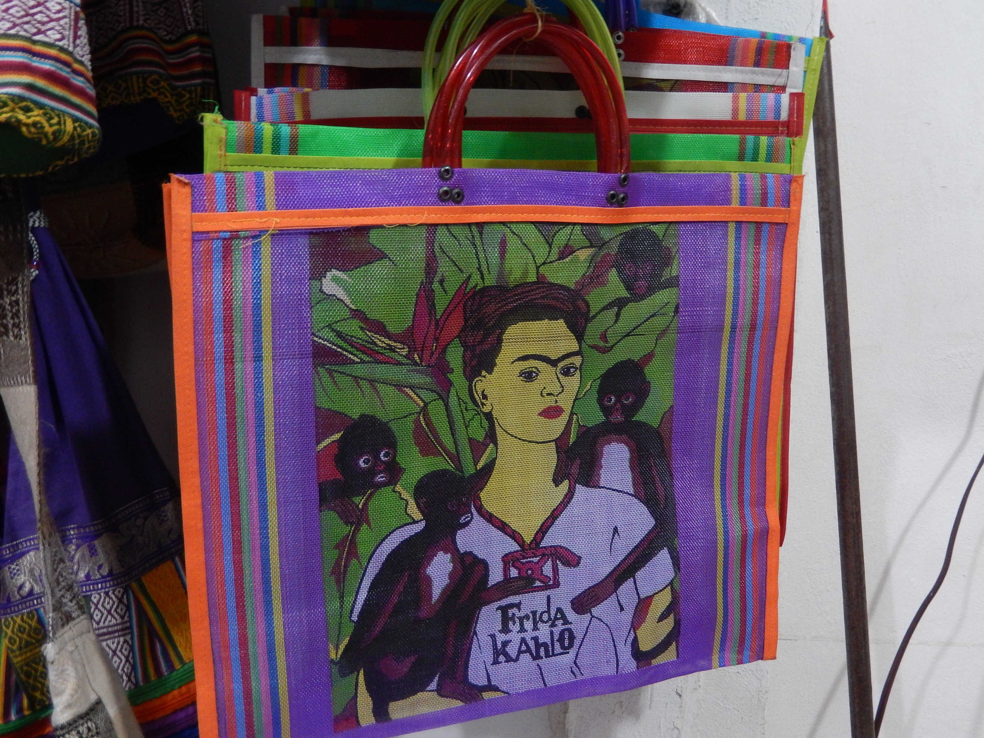 Frida recycled plastic bag