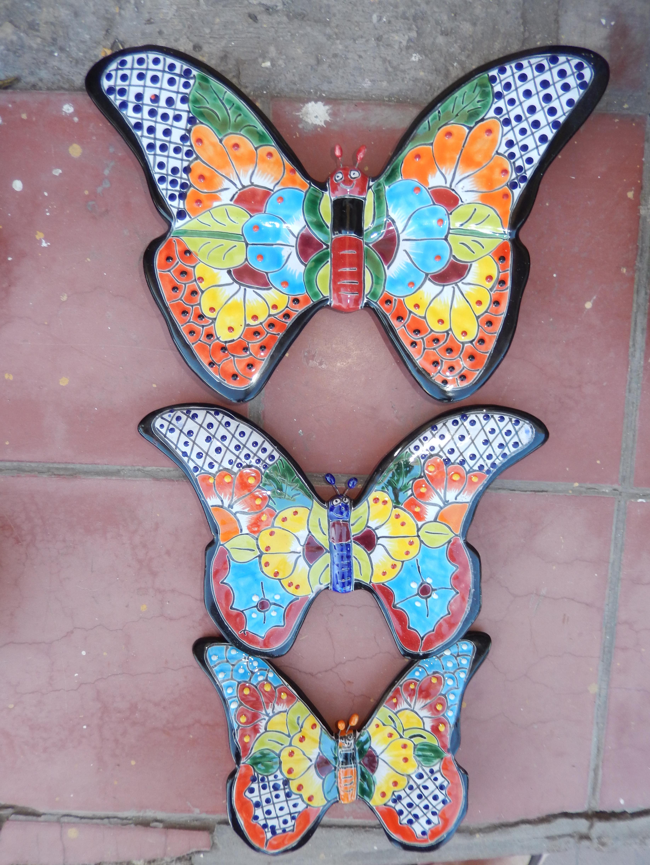 Butterflies - single or set of 3