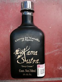 Kama Sutra - vanilla flavor tequila