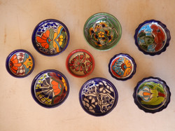 Bowls = medium and small
