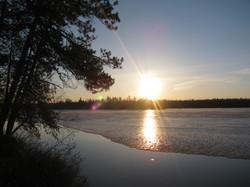 Sunset at Amberlite