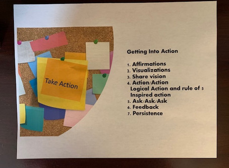 5 a Day:  Are You Taking Enough Action on Your Goals?