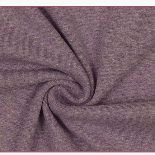 Strickschlauch Melange Flieder
