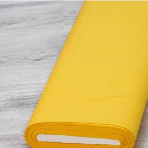 Interlock Jersey gelb