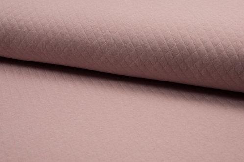 Steppstoff Baumwolle Altrosa