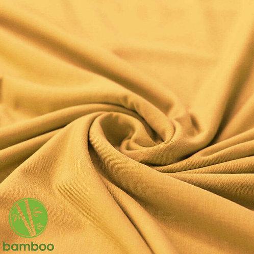 Bambus Jersey Senf