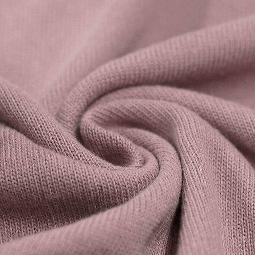 Strickstoff, Baumwolle Altrosa