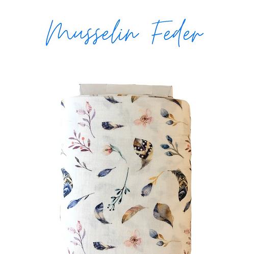 Musselin Feder