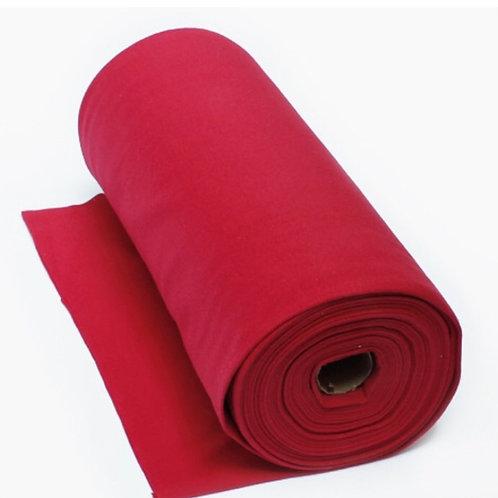 Feinstrick-Bündchen Rot