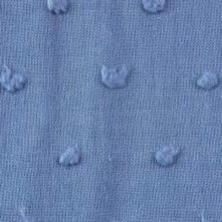 Baumwolle Dobby Jeans Blau