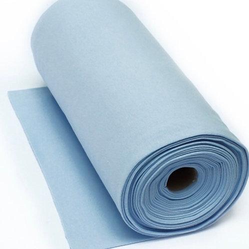 Feinstrick-Bündchen hellblau