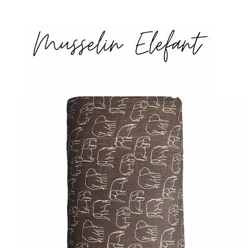 Musselin Elefant