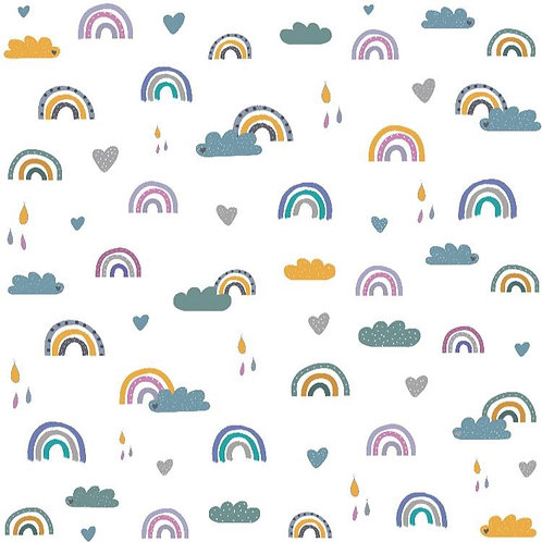 Sommersweat-Regenbogen
