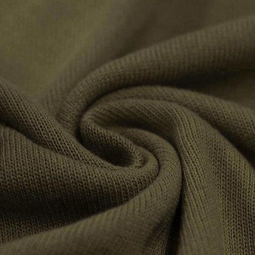 Strickstoff, Baumwolle Grün