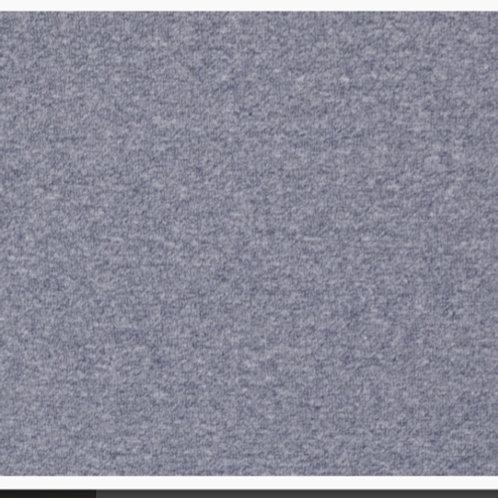 Feinstrick-Bündchen Jeansblau meliert