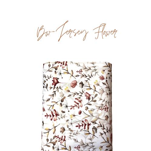 Bw-Jersey Flower