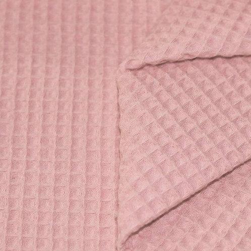 Waffelpiqué  Nude Pink