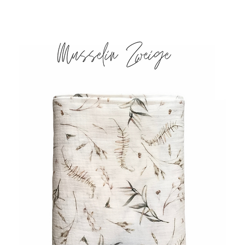 Musselin Zweige