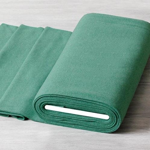 Feinstrick grün weiß meliert