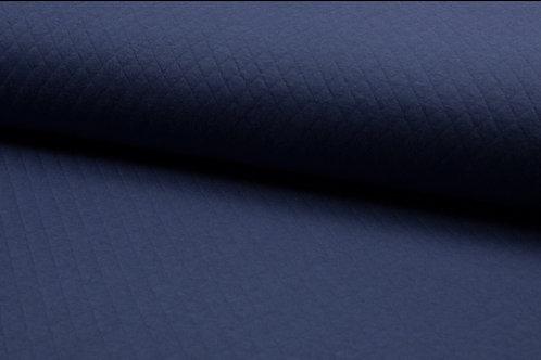 Steppstoff Baumwolle Jeans