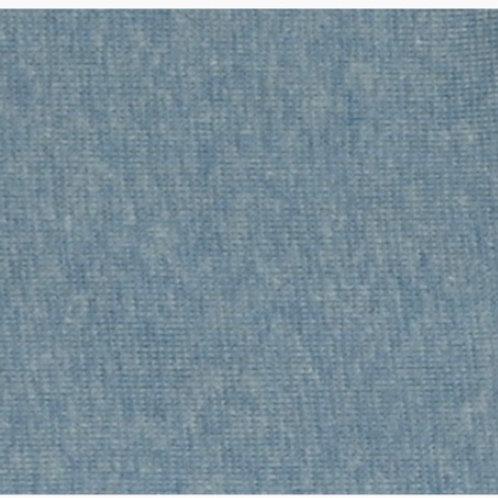 Feinstrick blau Melange