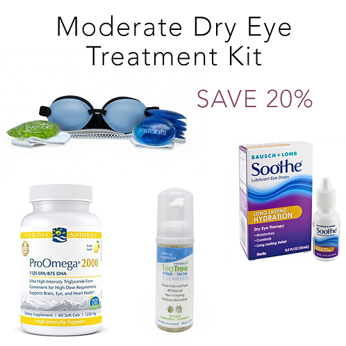 Moderate Dry Eye Treatment Kit