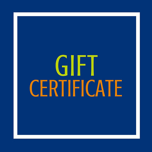 Gift Certificate - $25
