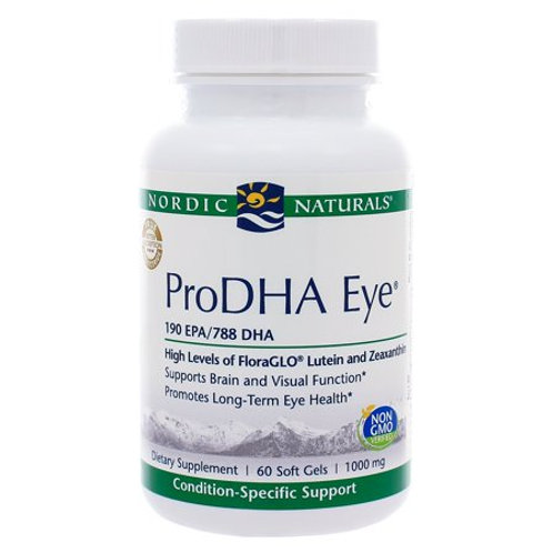 Nordic Naturals ProDHA Eye 60 Count for Macular Degeneration