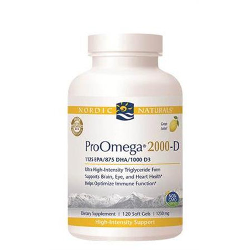 Nordic Naturals ProOmega 2000 120 ct. for Dry Eyes
