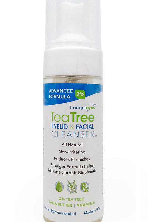 Advanced Formula 2% Tea Tree Eyelid & Facial Cleanser™ 180ml
