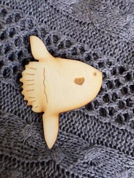 Mola-mola Pins