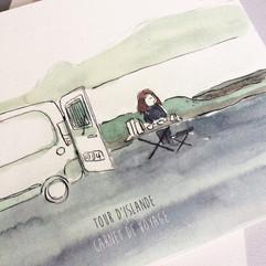 carnet de voyage d'Islande
