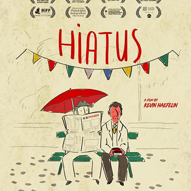 HIATUS - illustration Poster