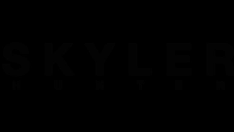 Skyler Hunter Black Logo.png