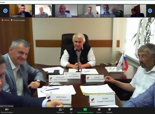29 июля 2020 г. состоялось первое онлайн-совещание с комиссиями ФЭС по спорту и развитию чел.капитал
