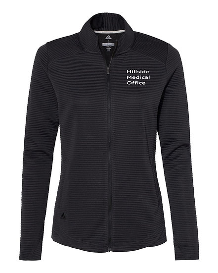 Adidas Textured Full Zip Jacket