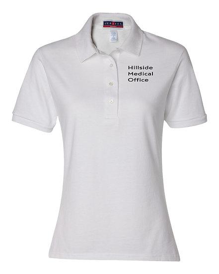 Jerzees Womens Spotshield Sport Shirt