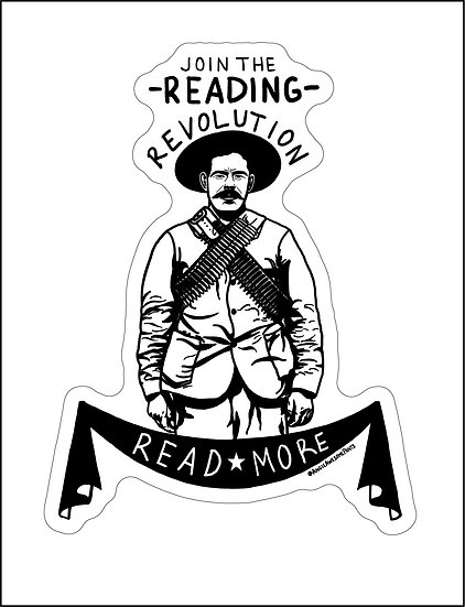 Reading Revolution Decal