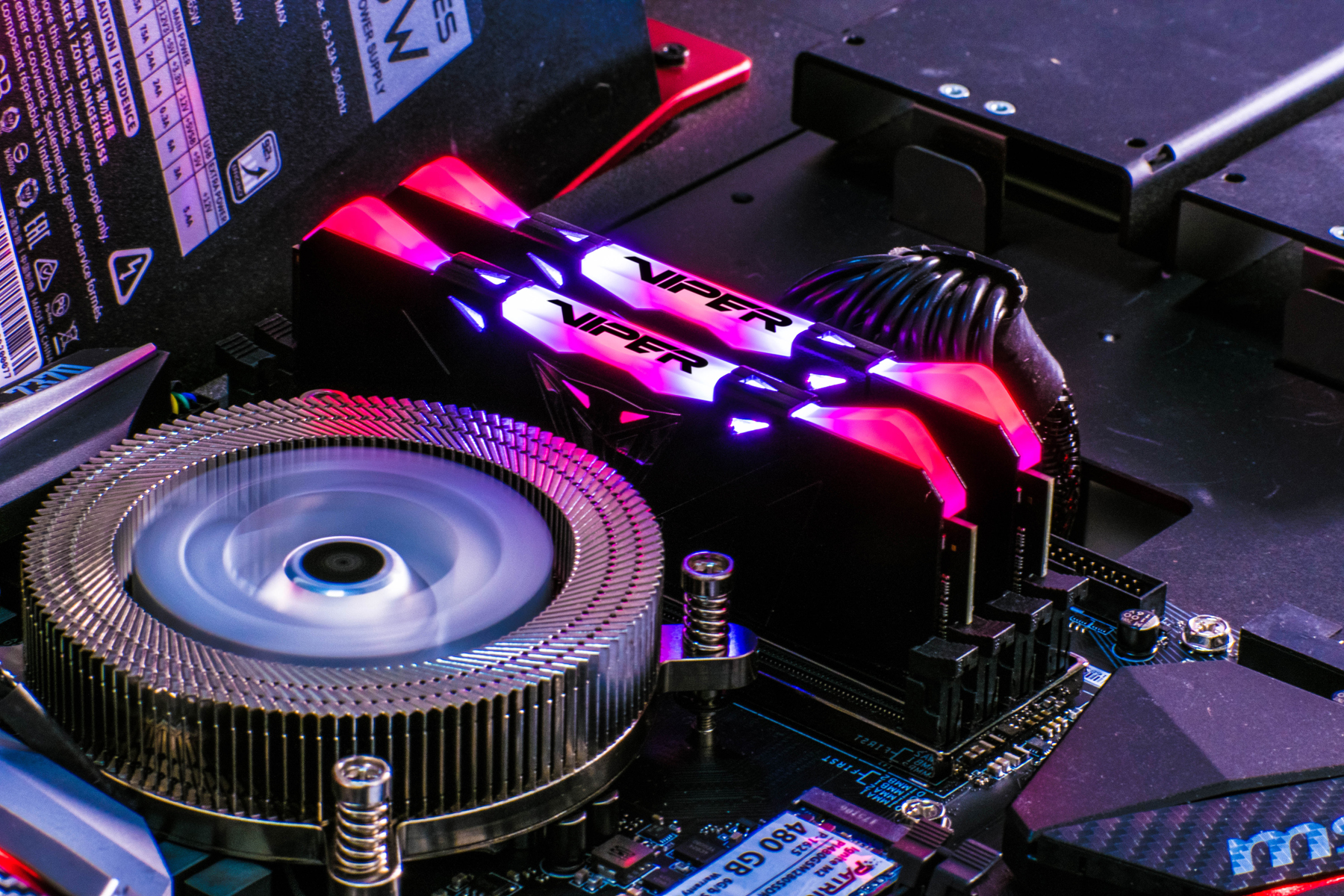 Viper RGB DDR4 Performance Memory