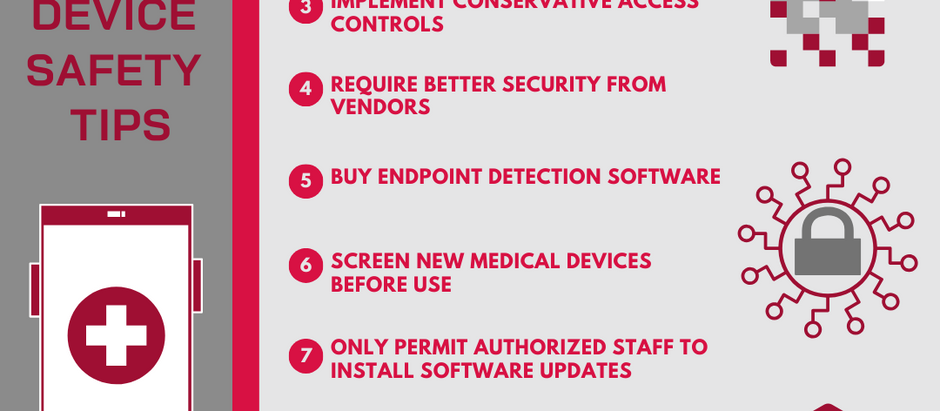 10 Ways to Help Secure Medical IoTs in the Age of Digital Medicine