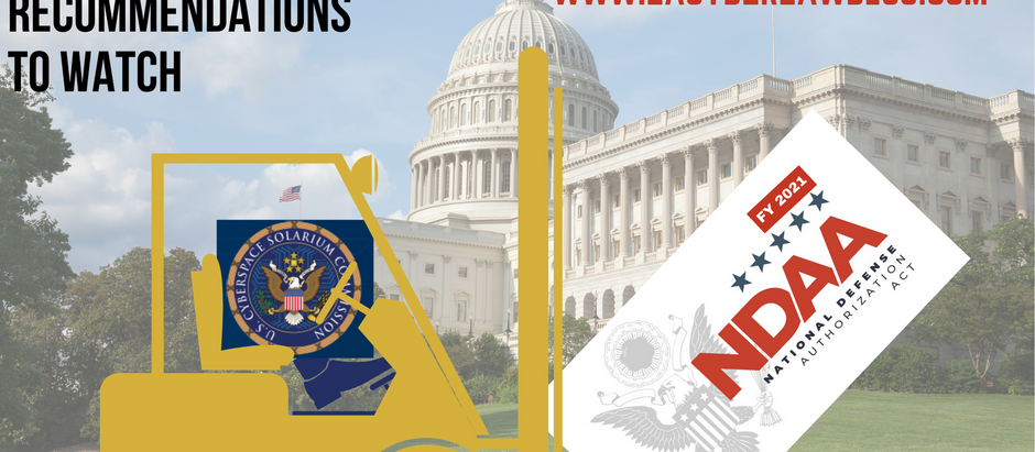 3 Cyberspace Solarium Commission Recommendations to Watch in NDAA FY21