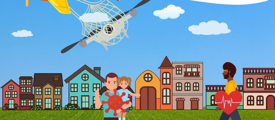Cities with Drones Tracking Covid-19 Symptoms - Check the 4th Amendment