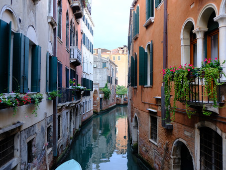 Italy Adventures:  We Wee – Learning new expressions and finding a place for number one in Venice