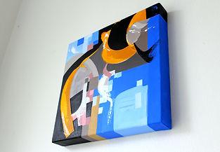 London based Gabriella Kosa`s abstract art gallery