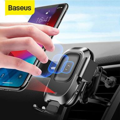 Baseus 10W Qi Wireless Charger מעמד מטען אלחוטי לטלפון הנייד