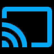 סמל שידור בין האפליקציה לטלוויזיה